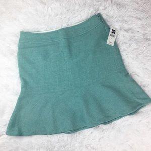GAP Wool Trumpet Flare Skirt